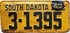 1943 South Dakota # 1395, Beadle County