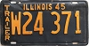 1945 Illinois Trailer # W24371