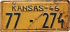 1946 Kansas # 274, Rawlins County