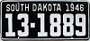 1946 South Dakota # 1889, Clark County