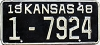 1948 Kansas # 7924, Wyandotte County