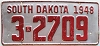 1948 South Dakota # 2709, Beadle County