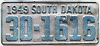 1949 South Dakota # 1616, Hand County