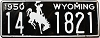 1950 Wyoming #1821, Niobrara County