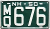 1950 New Hampshire # MO676