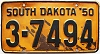 1950 South Dakota # 7494, Beadle County