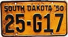 1950 South Dakota # G17, Faulk County