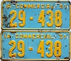 1951 Iowa Commercial pair # 438, Des Moines County