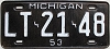1953 Michigan # LT-21-48