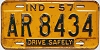 1957 Indiana Drive Safely # AR 8434, Marion County