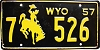 1957 Wyoming # 526, Goshen County