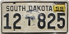 1959 South Dakota Truck #825, Bon Homme County