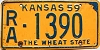 1959 Kansas # 1390, Rawlins County