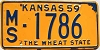 1959 Kansas # 1786, Marshall County