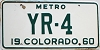 1960 Colorado Metro low # YR-4, Cheyenne County