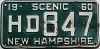 1960 New Hampshire # HD 847