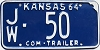 1964 Kansas Commercial Trailer # 50, Jewell County