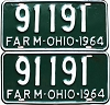 1964 Ohio Farm pair # 91191