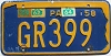 1964 PENNSYLVANIA license plate # GR399