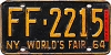 1965 New York World's Fair # FF-2215