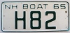 1965 New Hampshire Boat # H82