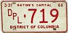 1965 Washington D.C. Diplomat # 719
