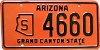 1966 Arizona State Owned # 4660