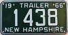 1966 New Hampshire Trailer # 1438