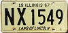 1967 Illinois # NX 1549