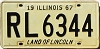 1967 Illinois # RL 6344