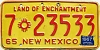 1967 New Mexico # 7-23533, Dona Ana County