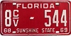1968 Florida Commercial Vehicle # 8cv-544, Volusia County
