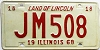 1968 Illinois # JM 508