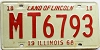 1968 Illinois # MT 6793