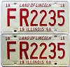 1968 Illinois pair # FR 2235