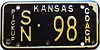 1968 Kansas Coach Pickup # 98, Saline County