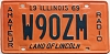 1969 Illinois Amateur Radio # W90ZM