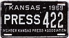 1969 Kansas Press Car # 422