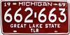 1969 Michigan Trailer # 662-663
