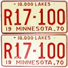 1970 Minnesota Recreational Vehicle pair # R17-100