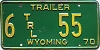 1970 Wyoming Trailer #55, Carbon County
