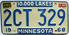 1970 Minnesota # 2CT-329