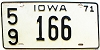 1971 Iowa # 166, Lucas County
