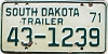 1971 South Dakota Trailer #1239, Lyman County