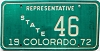 1972 Colorado State Representative # 46
