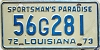1972 Louisiana Sportsmans Paradise #56G281