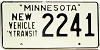 1973 Minnesota New Vehicle In Transit # 2241