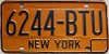 1973 base New York # 6244-BTU