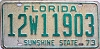 1973 FLORIDA license plate # 12w11903, Lake County