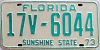 1973 Florida # 6044, Seminole County